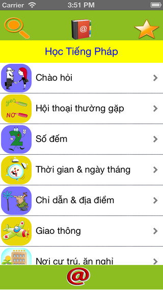 Học Tiếng Pháp - Learn French vocabulary and phrases