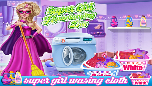 Super Girl Housekeeping