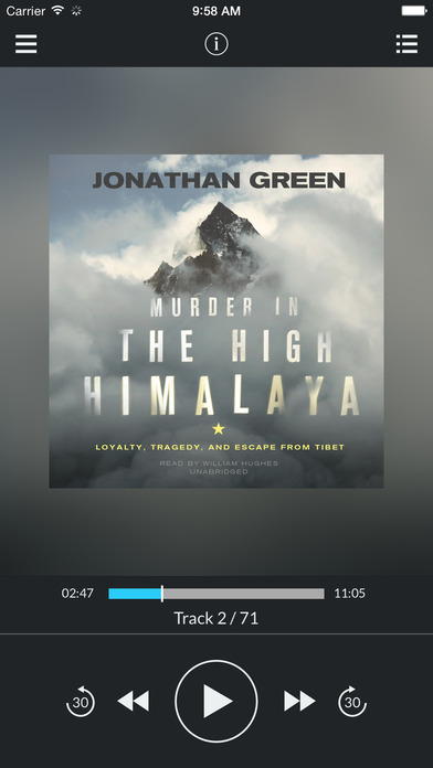 Murder in the High Himalaya: Loyalty Tragedy and Escape from Tibet by Jonathan Green UNABRIDGED AUDI