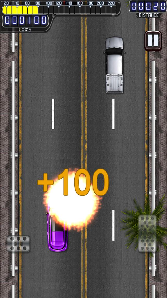Crazy Car Racer Pro screenshot 3