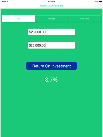 how to calculate return on investment reddit