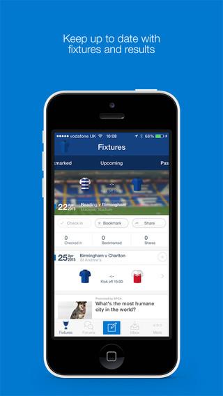 Birmingham City FC Fan App