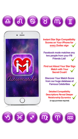 Astromatcha - Instant Star Sign Compatibility