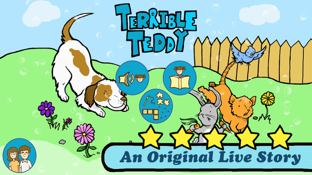 Terrible Teddy Free - An Original Kids Reading Book and 8 Fun Games for boys and girls by Live Story