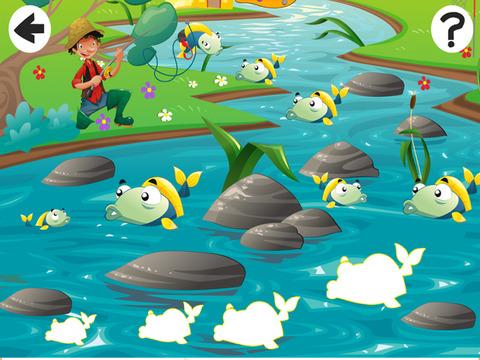 Активный! Калибровка Игра Для Детей, Чтобы Учиться И Играть С Рыбалки И Рыбы