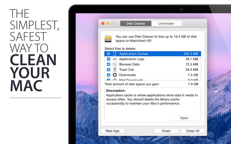 Disk Cleaner Screenshot