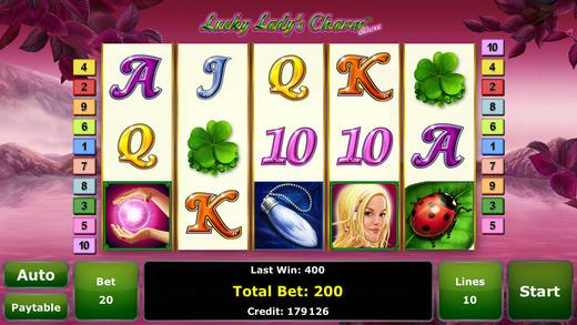 Lucky Lady's Charm™ Deluxe Slot