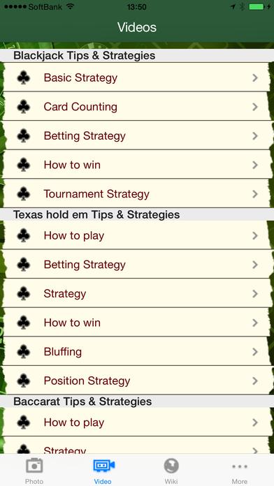 Beat the Casinos iPhone Screenshot 3