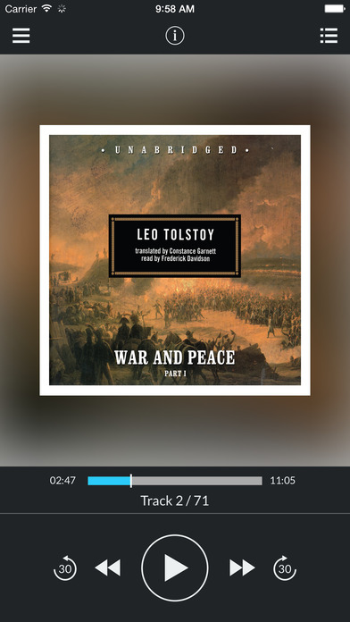 War and Peace by Leo Tolstoy UNABRIDGED AUDIOBOOK