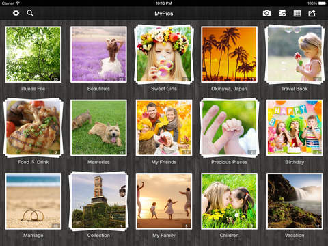 MyPics - A Powerful Photo Viewer, Editor and Manager screenshot