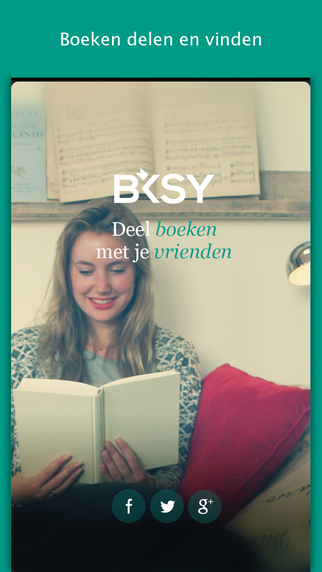 Bksy - Boeken delen en vinden