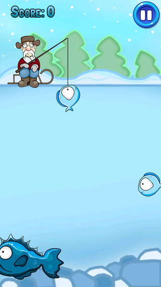 Winter Christmas Fishing