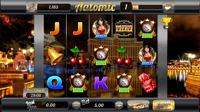 Aatomic Slots - Free Casino Slots Game