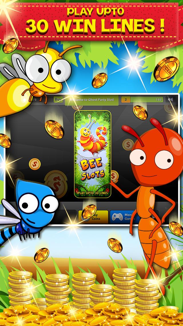 Bee lucky slot machine
