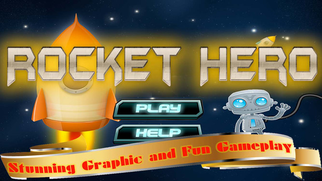 Rocket Hero - Space Ship Spin Jump to Explore Planets and Universe