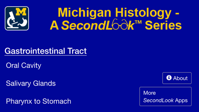 Histology – Gastrointestinal Tract