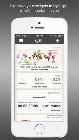 Willit - Mega Millions Powerball Lottery App