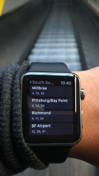 Bart Watch - Bart times for your Apple Watch