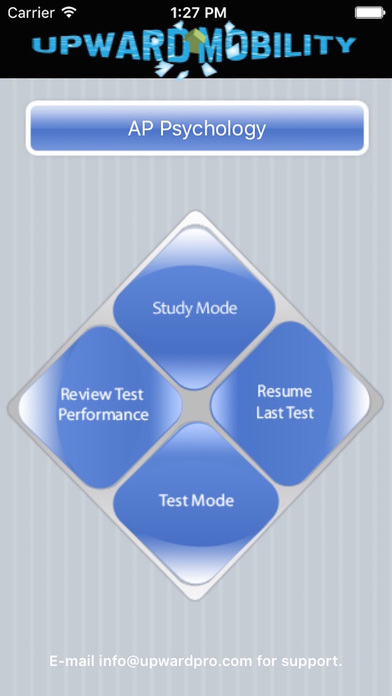 AP Psychology Exam Prep / Review iPhone Screenshot 1