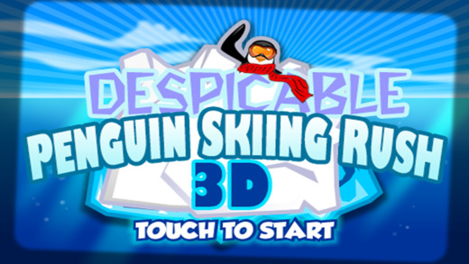 Despicable Penguin Skiing Rush - Cool 3D Running Game for you