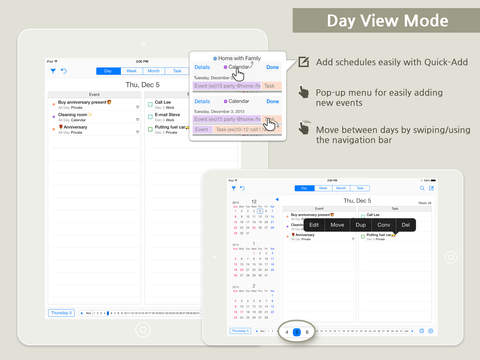 Planbe Calendar And Reminder Best Organizer For Task And Event For Icloud Google And Toodledo on ipad organizer app