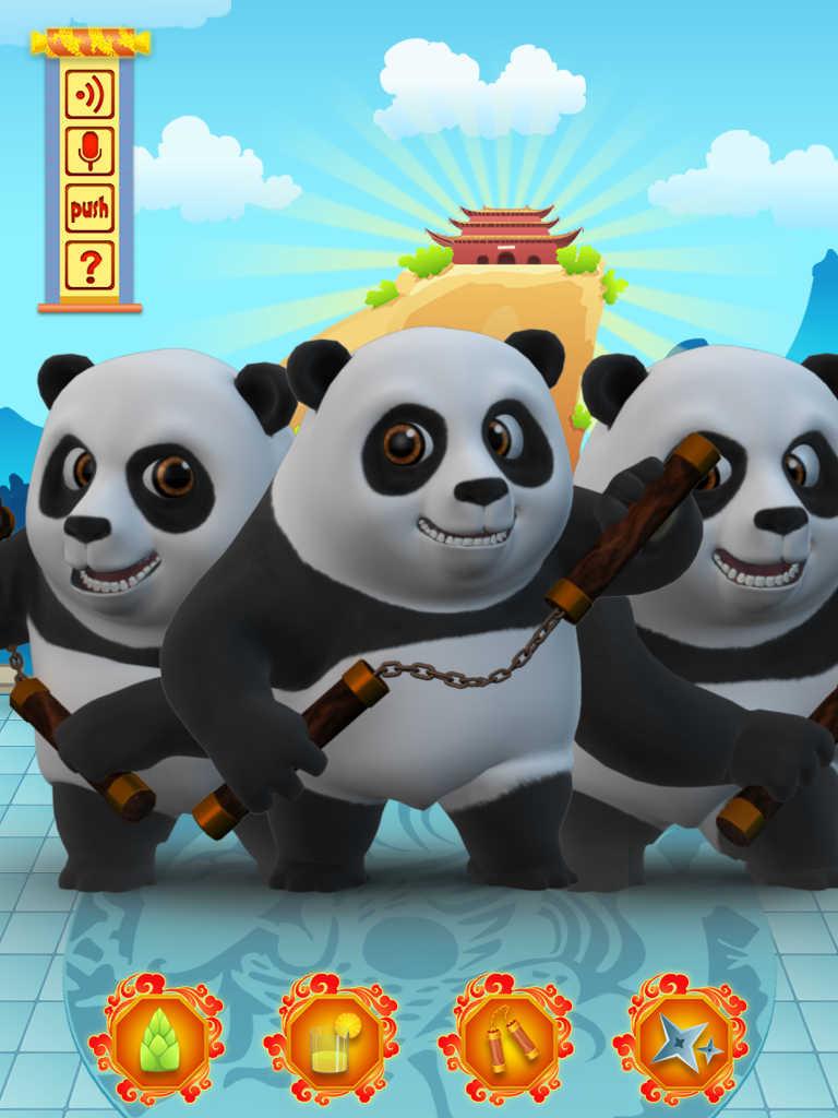 会说话的功夫熊猫 - talking bruce the panda for ipad