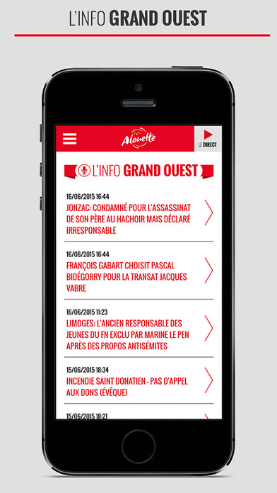 Alouette iPhone Screenshot 3