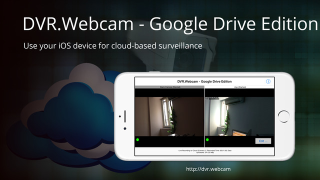 DVR.Webcam - Google Drive Edition
