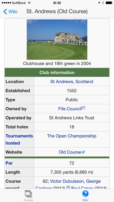 World Golf Views iPhone Screenshot 5