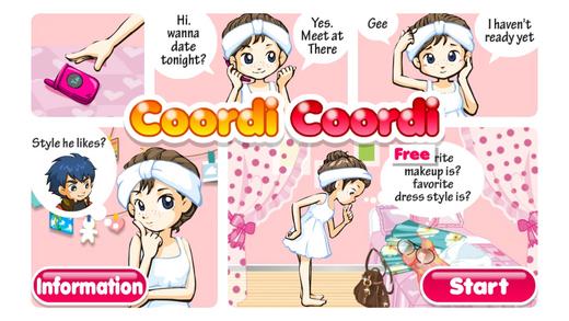 Coordi Coordi Free Make Up Dress Up