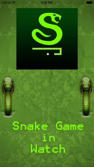 Snake Game in Watch