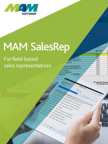 【免費商業App】MAM SalesRep-APP點子