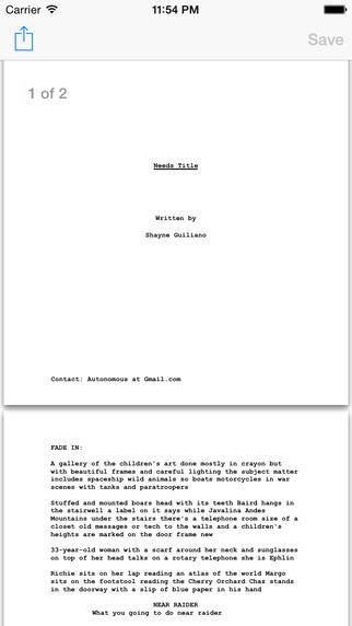Screenwriter's Watch