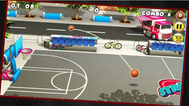 Ultimate Basket Ball Fun Game