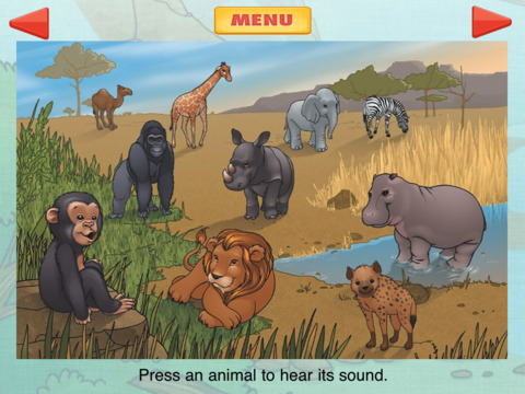 iCount-to-10 – Teach Your Child to Count to 10 – Early Learning Method for iPad iPad Screenshot 1