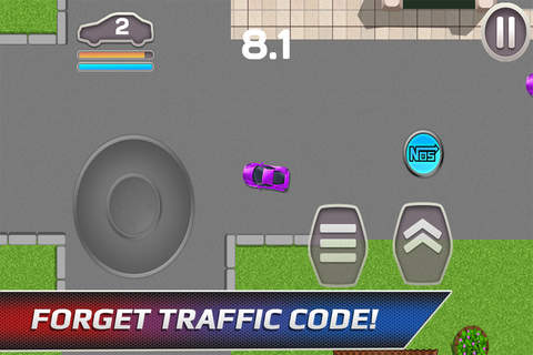 Car Chase - High-Speed Police Escape screenshot 4