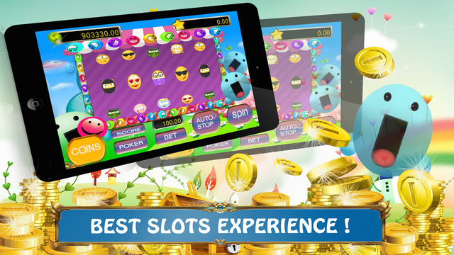 Emotion Icons Party - Free Jackpot Party Bonanza and Win Mega Coins Prize