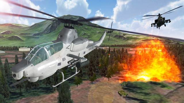 Air Cavalry PRO - Carrier Ops Combat Flight Simulator of Infinite Sky Gunship and Hardest Tanks Hunt