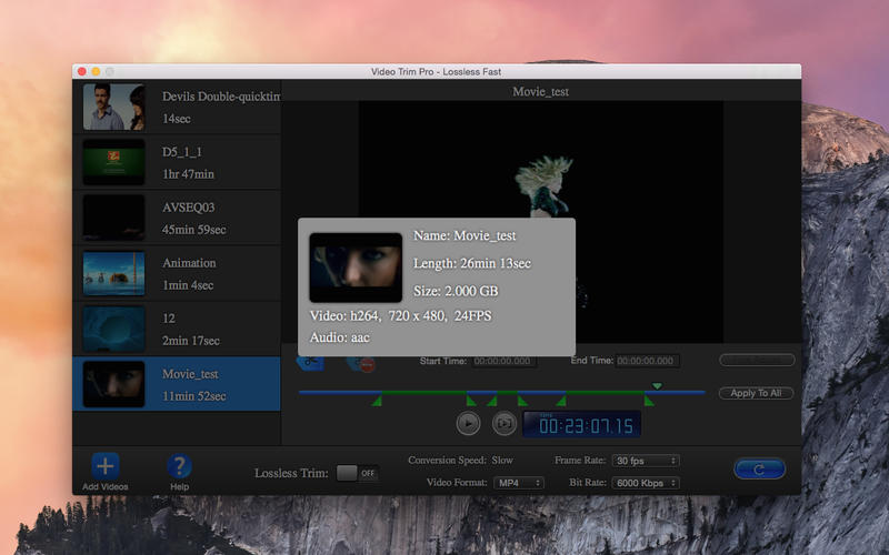 Video Trim Pro - Lossless Cut Lite Screenshot - 4