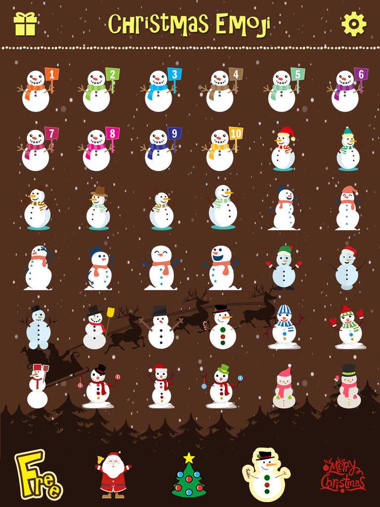 app shopper  merry christmas emoji pro