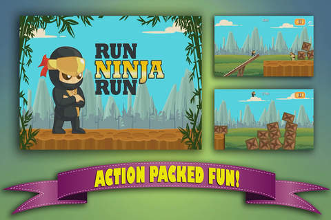 A Action Run Ninja Run screenshot 1