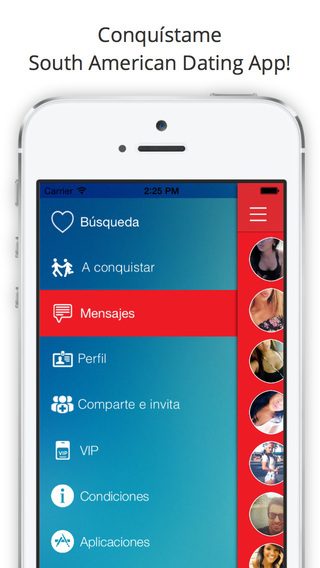 Conquistame - South American Dating App Meet Latino Singles Chat and Love