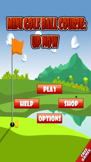 Mini Golf Ball Course: Speed Up Now Pro