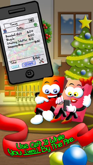 Gift It - A Christmas Shopping List Countdown App