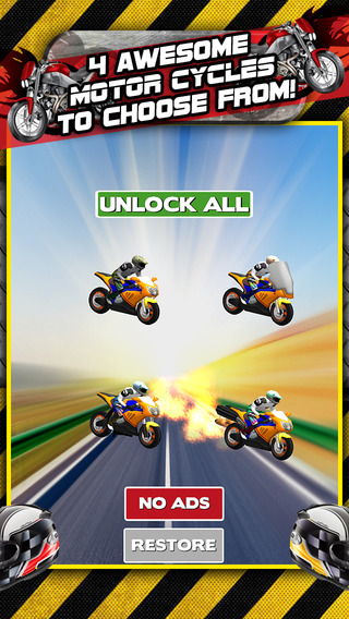 Bike Games For Boys Game iPhone Screenshot
