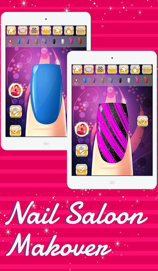 Nail Art Salon Game - Fashion Makeover Game for Girls