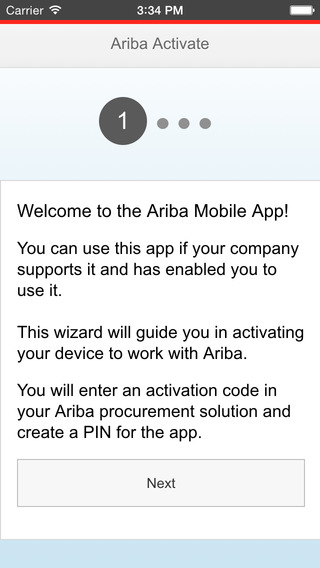 Ariba Supplier Mobile App