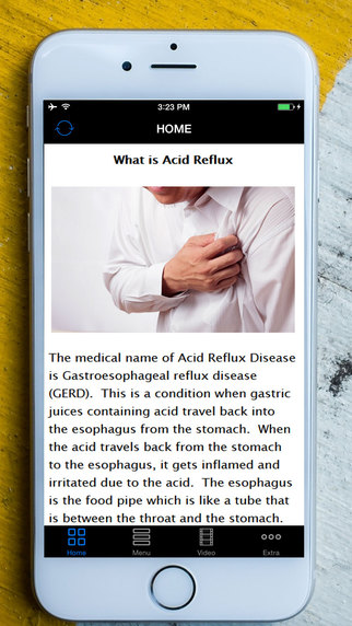 【免費健康App】Acid Reflux Treatment-APP點子