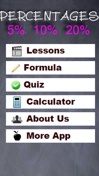 Percentages Lessons and Calculator