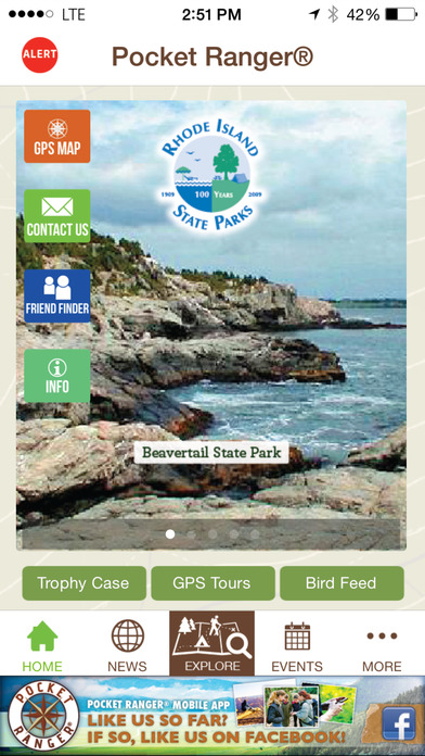 The Official Rhode Island State Parks Great Outdoors - Pocket Ranger™ iPhone Screenshot 2